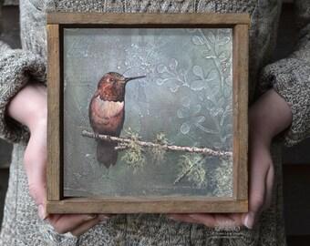 HUMMINGBIRD ART, Humming Bird Print, Hummingbird Art Prints, Bird Art, Hummingbird Gifts, Bird Decor, Framed Wall Prints