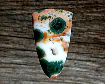 DruzyOcean Jasper Cabochon, Designer Cabochons Handmade by MagicStones.