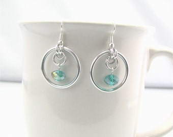 Justine Chainmaille Earrings