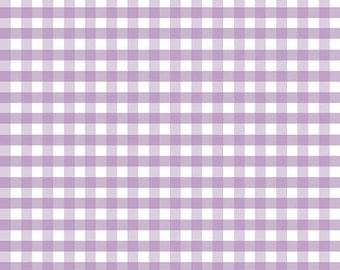 Lavender gingham   Etsy : lavender quilting fabric - Adamdwight.com