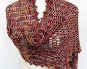 cashmere blend magneta burgundy super scarf or wrap