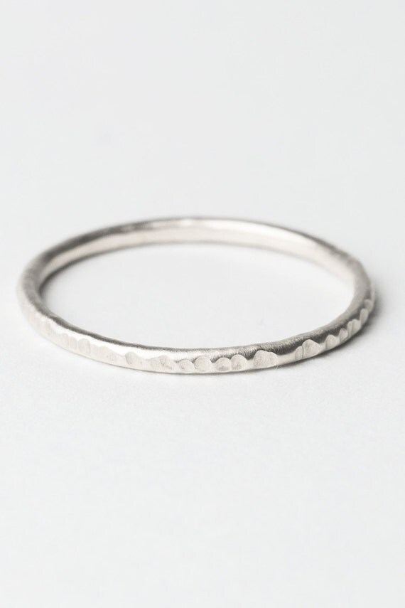 thin stacking ring silver ring sterlingsilver ring