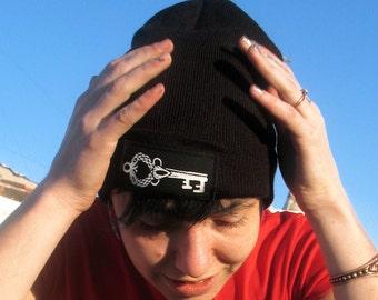 The Lost Key - Black Beanie