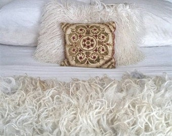 "large felted ""sheepskin"" sheep skin fleece Shetland Piegi"