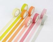 Japanese Washi Tape- Masking Tape- Planner Stickers- Decorative Stickers