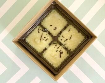 Vanilla Sugar Tub Truffles Minis - Cocoa Butter Bath Melts