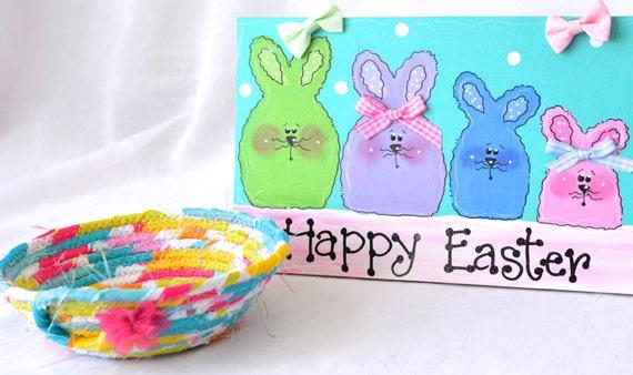 Modern Candy Dish,  Handmade Fabric Basket, Pink Sateen Basket, Pink Candy Bowl, Cute Spring Decoration, Cute Desk Accessory