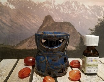 Mini Ceramic Tea Light Wax Warmer, Oil Burner, Great Gift, Christmas