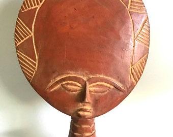 African Fertility Goddess - Ashanti Sculpture - Primative Art - Wood Sculpture