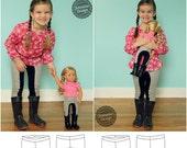 Dressage Leggings Dolly and Me Pattern Bundle