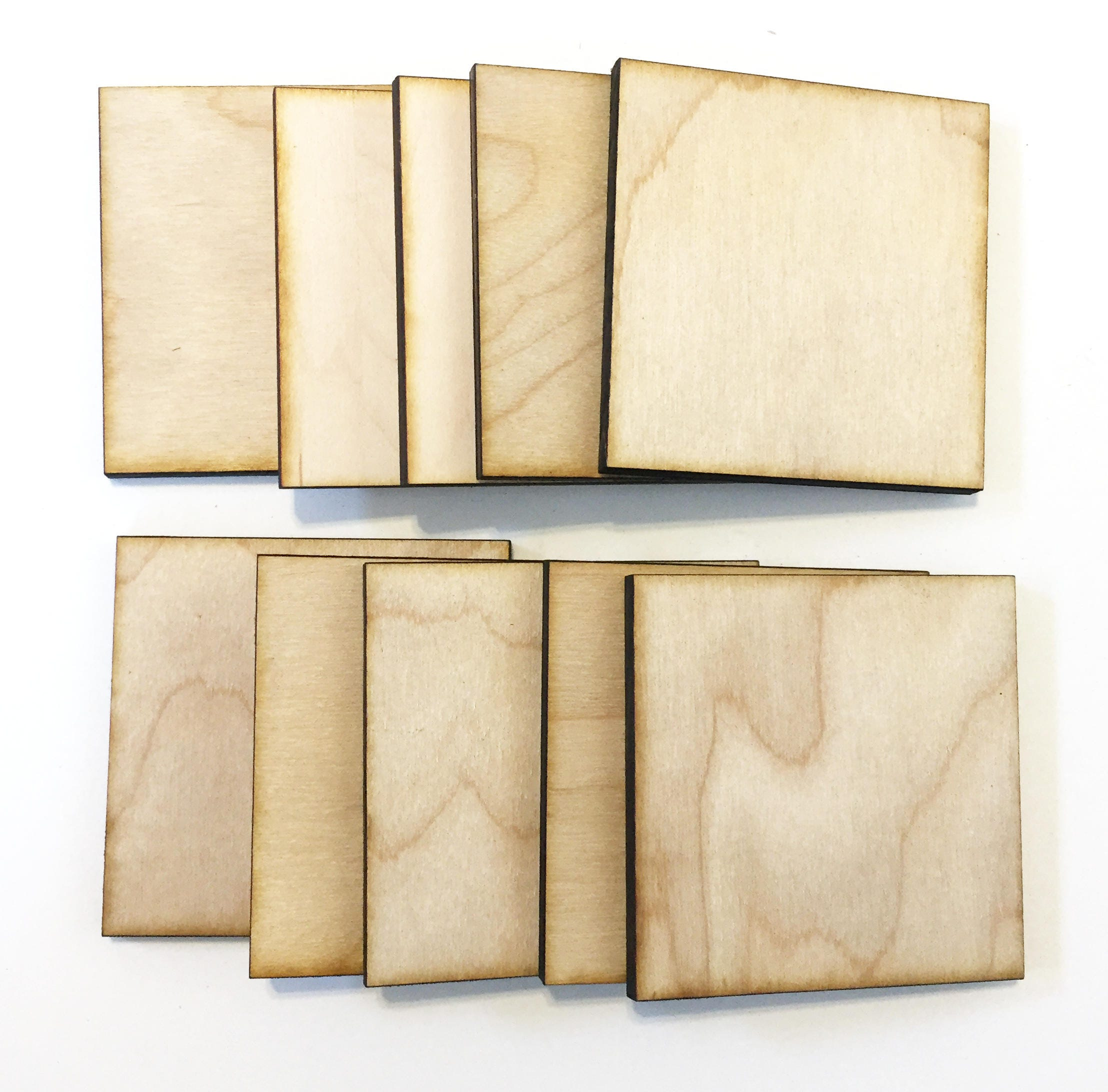 Unfinished wood craft products -  8 00