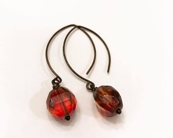 Sangria Dangle Earrings