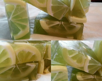 Green Tea and Lemon Soap