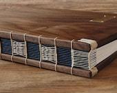RESERVED for Yvette - Custom walnut journal
