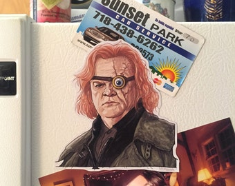 Mad Eye Moody HARRY POTTER Fridge Magnet