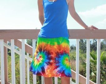 Tie Dye GAP Skirt | Size Small upcycled
