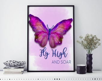 Butterfly Prints | wall art | Wall art | Butterfly wall art | individual print