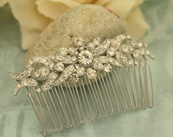 Rhinestone Hair accessories,Wedding hair comb,Crystal hair jewelry,Bridal hair comb,Wedding hair piece,Bridal comb,Wedding hair clip,Bridal