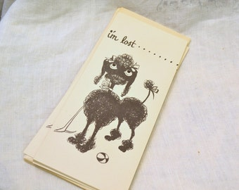 1950s NOS Get Well Soon Gift Card with Envelope