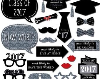 Graduation Photo Props - Graduation 2017 Photo Props - Selfie Photo Props - OilPatchFarm