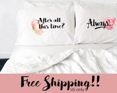 Valentines Day Couples Pillowcase Harry Potter After All This Time Always Pillows Long Distance Relationship Gift LDR Pillowcase Love Always