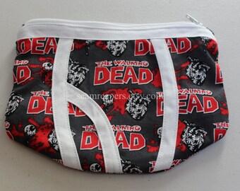walking dead underwear zipper purse