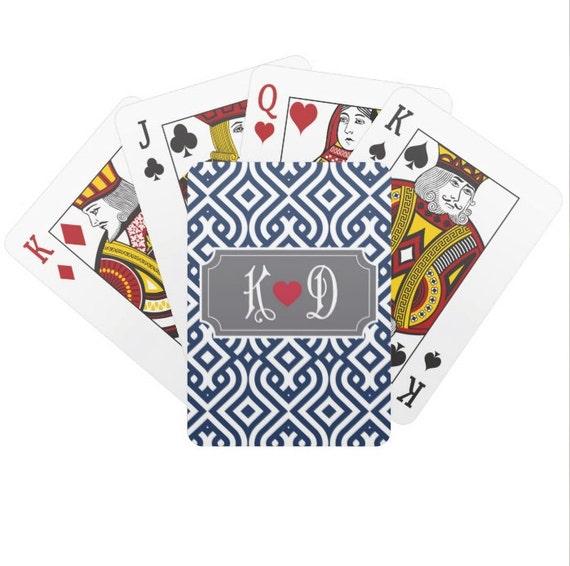 Designer poker cards