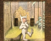 Where the Wild Things Are Double Light Switch Plate