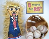 President Trump Knock Down Doll - Boardwalk Arcade Game Circus Punk - Donald Trump