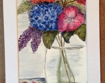 Flowers - Original watercolor