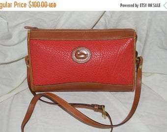 Spring Sale Dooney & Bourke~Dooney Bag~ Shoulder Bag~ USA Made Cross Body~Red Dooney  Bourke