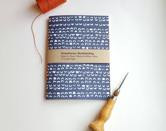 Modern Arches Notebook - Semi-Circle Design Journal - Pocket Notebook - Jotter - Modern Design - Diary