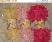 Sale Tissue Paper Garland Festoon French Feston 6 Yards (18 Feet) Pink Cream
