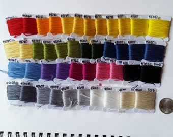 Rainbow Embroidery Skein Lot