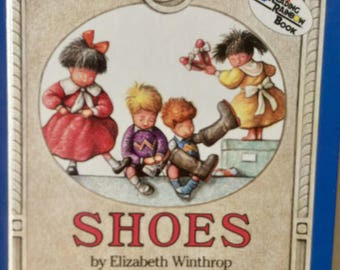 Shoes, vintage Children's Book by Elizabeth Winthrop - illustrated by William Joyce