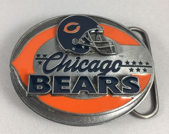 Chicago Bears Belt Buckle Limited Edition