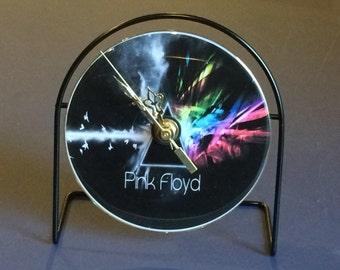 Pink Floyd Dark Side Of Moon Recycled CD Clock Art