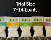 Goat Milk Laundry Soap Trial Size 7-14 loads Laundry Detergent Laundry Powder, Biodegradable, Eco-Friendly, Natural Detergent,