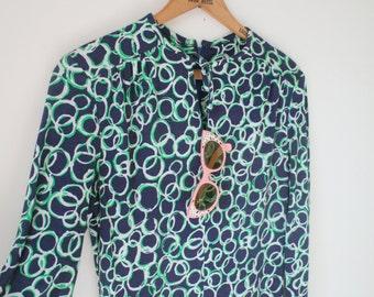 Vintage RETRO SWIRLS Dress.....size xs small womens...jackie o dress. 60s dress. 70s dress. mod. maxi dress. geometric. groovy. mod. twiggy.