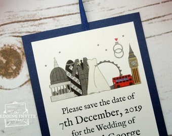 London Save the Date Cards