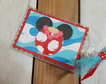 Personalized Disney Luggage Tag Inspired by Lilo