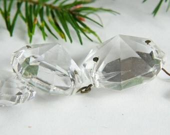 35% OFF B-DAY Vintage Chandelier Crystals Round Rectangular  -B4