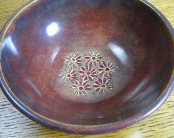 Handmade Pottery Bowl, Pottery Bowl, Small Dip Bowl,  Dip Bowl for 2, 0719