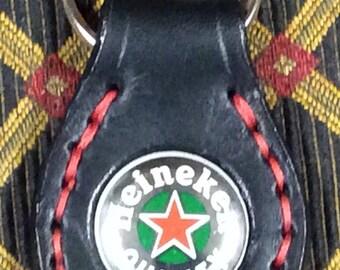 Heineken bottle cap key ring