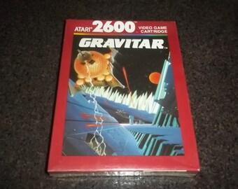 Vintage Gravitar Atari 2600 Game NOS, in factory sealed box dated 1988