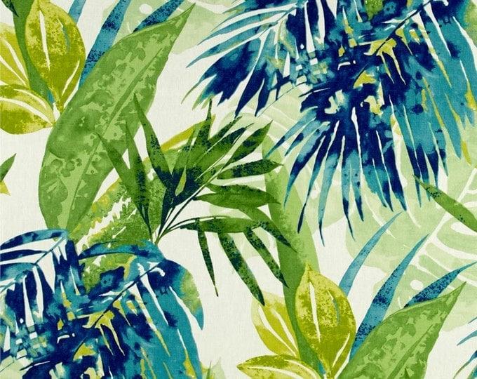 Designer Pillow Cover - Lumbar, 16 x 16, 18 x 18, 20 x 20, 22 x 22, Euro -Solie Blue and Green