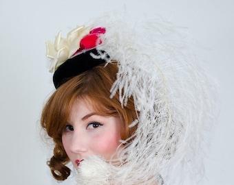 25% OFF SALE / 1960s vintage hat / designer hat / Irene of New York