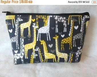 Giraffes Cosmetic zipper Bag