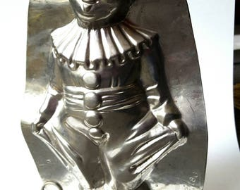 A Large Clown Chocolate Mold