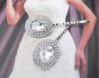 Bridal Hair Pins Wedding Jewelry Wedding Hair Pins Pearl Swarovski Crystal Rhinestone Hair Comb  Bridal Jewelry Pageant Jewelry